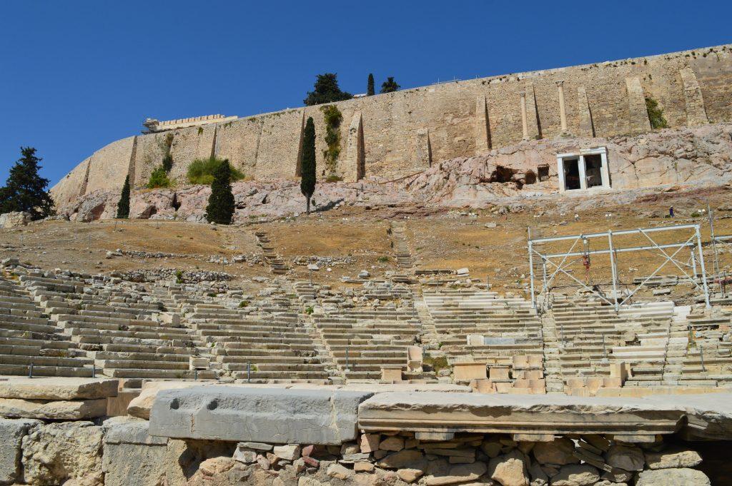 Théâtre de Dionysos, acropole d'Athènes