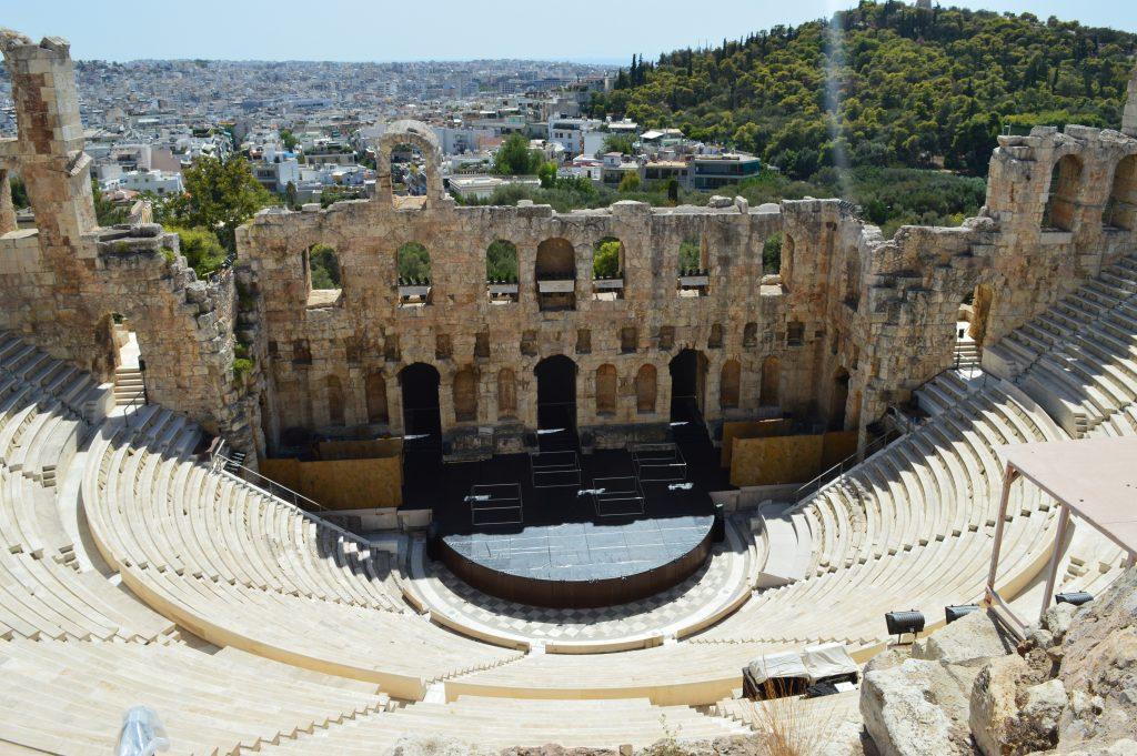 Odéon d'Hérode Atticus à l'acropole, Athènes