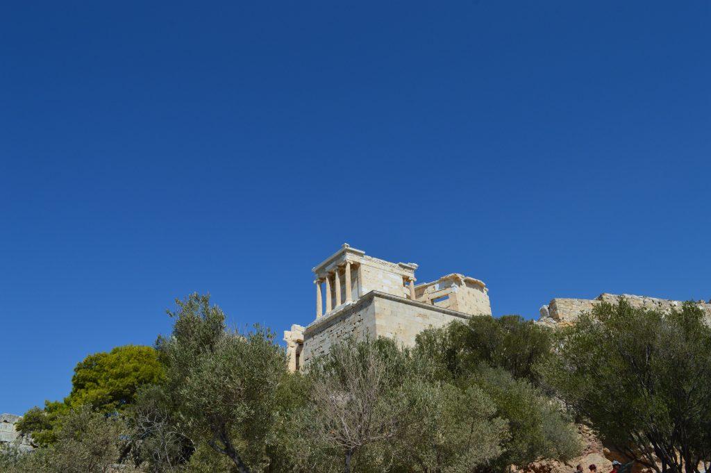 Temple d'Athéna Nikè, acropole d'Athènes