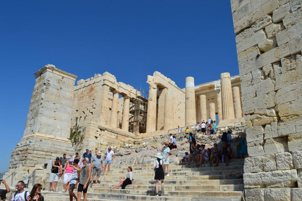 Propylées acropole d'Athènes