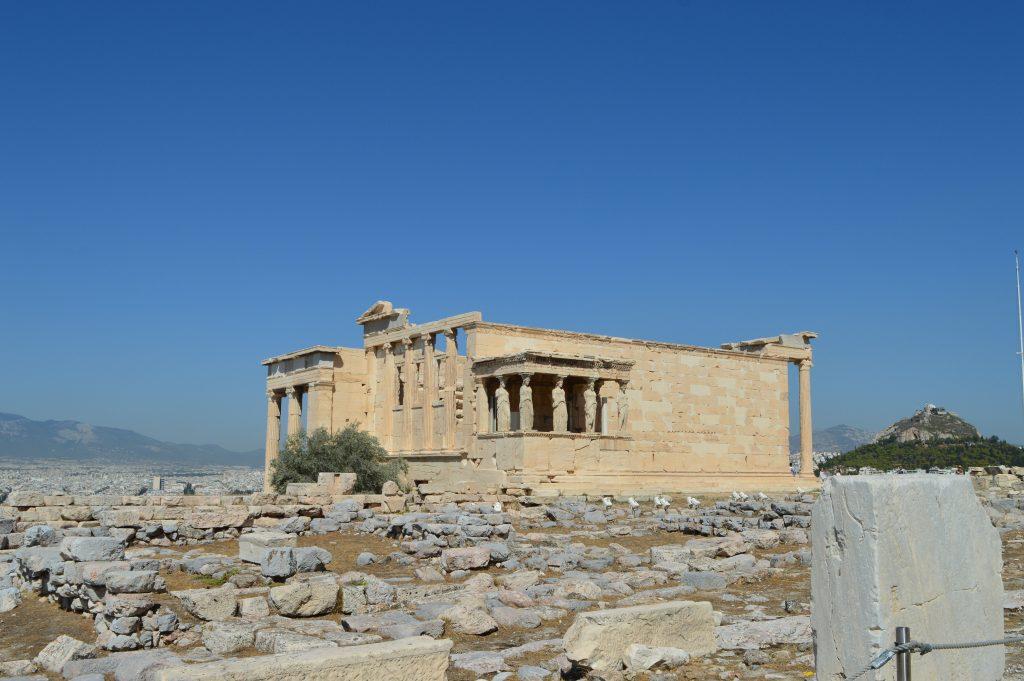 Érechthéion, acropole d'Athènes