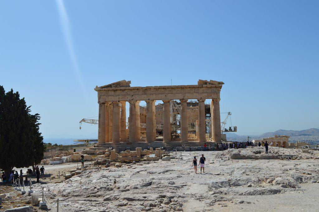 le celèbre Parthéon, Athènes