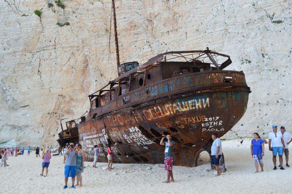 Shipwreck Navagio