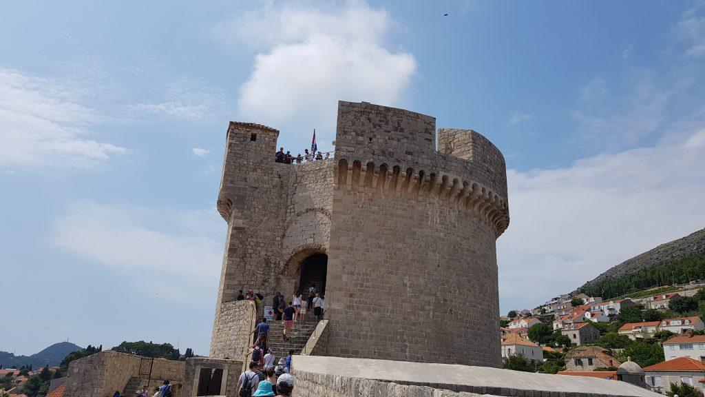 La tour de Minčeta,